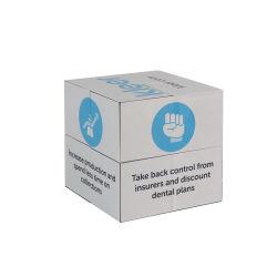 Cadeau d'entreprise d'impression personnalisé 6cm puzzle de la publicité Magiccube magnétique