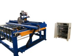 A linha de laminação de papelão favo de expandir a máquina