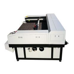 고속 직물 또는 피복 또는 Gament 자동적인 공급 직물 Laser 절단 절단기 기계