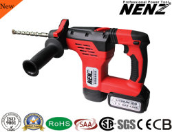 Nenz DC Multi fonction marteau rotatif sans fil avec 2 piles au lithium (NZ80)