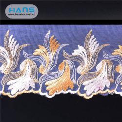 Hans Factory Comercio al por mayor elegante Encaje Floral tejido