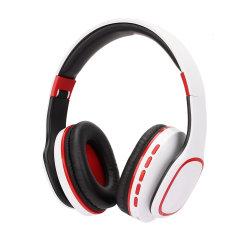 Kompakter moderner Entwurf über Ohr-überlegene Qualität drahtlosem Bluetooth Kopfhörer-Weiß