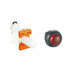 Montage sur rail tête convexe de l'éclairage Lampe de signal de brume Explosion-Proof
