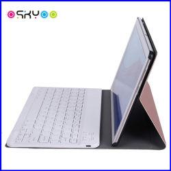 Huawei Mediapad T5 10.1のための無線Bluetoothキーボードタブレットの革箱
