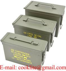 Caixa de Munições / Cofre de Munições / Caixa Porta Munição - M19A1/M2a1/PA108