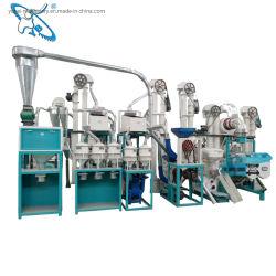Moinho de rolos ISO Máquina de moinho5tpd -500tpd Arroz Máquina de moinho de farinha de trigo para milho