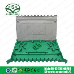 12Le bac d'épissure à fibres optiques de base utilisés dans le Cabinet ODF