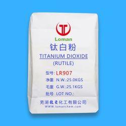 El rutilo Dióxido de titanio rutilo contenido 99%Min con alta calidad y precio de fábrica