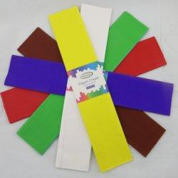 prix d'usine couleur Papier crêpe papier d'emballage pour les fleurs, du papier de l'artisanat