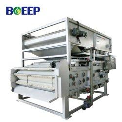 Correa de mecánica de la Unidad de Prensa de filtro para la deshidratación de lodos y secado