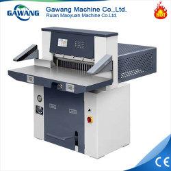 Hot Sale Facteur de sécurité plus élevé d'engrenage hydraulique de la conduite Machine de découpe de papier A4