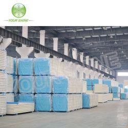 低温貯蔵または部屋の鉄骨構造の壁および屋根ふきの冷凍装置または絶縁されたパネルのための建築材PU/PUR/PIRサンドイッチパネル