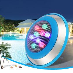 6 واط/12 واط/18 واط/21 واط/36 واط IP68 LED حوض أسماك حوض تحت الماء Fish Tank RGB Spot مصباح الإضاءة 12 فولت
