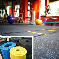 30 pavimentazione di gomma di forma fisica e di asilo della stuoia di ginnastica riciclata di spessore SBR EPDM