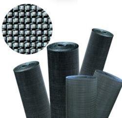 قطعة قماش سوداء الأسلاك/ شاشة شبكة سوداء الأسلاك/ قطعة قماش مع مرشح أسود