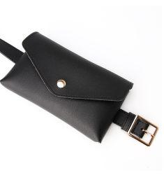 As mulheres da moda de cinto de segurança da cintura a chave pequena bolsa à cintura do cinto de decoração para mulher