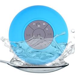 高品質のマイクロフォンの浴室のハイファイステレオスピーカーBts06防水無線Soundbar