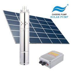 Kundenspezifisches Qualität Mini7hp 3HP Abwasser-Solarwasser-versenkbares Pumpen-System Gleichstrom-48V 450W 15kw mit Niveauschalter