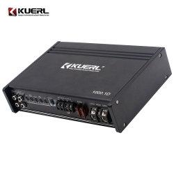 Amplificateur stéréo haute puissance voiture noire 1000W de l'amplificateur 1 canaux de la concurrence amplificateur audio de voiture