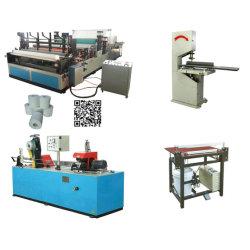 Полуавтоматическая туалетной бумаги бумагоделательной машины производственной линии