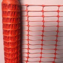 Hoher sichtbarer temporärer Zaun-Plastikverkehrssicherheit-Zaun für WARNING