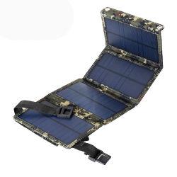 ポータブル 10W 20W 折りたたみ式ソーラーパネルモジュールセルソーラー充電器 電話機用 USB 出力付きパネル