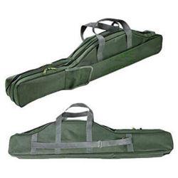 حقيبة تخزين لقضيب الصيد قابلة للطي أدوات قطبي صيد السمك معدات صيد السمك تعالج حقيبة صيد السمك