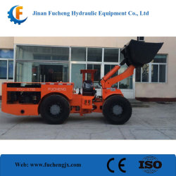 地下に中国作られる高い保障された操作の安全の鉱山LHD/のローダーのscooptramを車輪運転しなさい