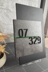 アクリル製ドア番号ディスプレイプレート