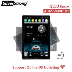 Silverstrong 10 Zoll Tesla Autoradio 2 DIN Android Car Stereo 2DIN Autoradio GPS Android Zentrale Multimedia Universal Empfänger 2GB 32GB