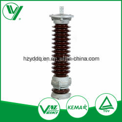 Hochspannungsnebenstelle-Blitzableiter-Hersteller des Überspannungsableiters des Stromstoss-66kv