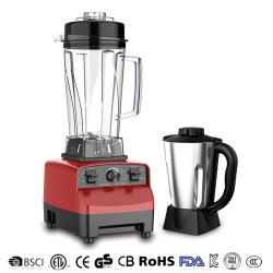 Liquidificadora para casa com robot de cozinha comercial de alto desempenho de 1500 Cozinha liquidificadora multifunções elétrica espremedor de sumos batidos triturador de triturador de triturador de batedeira Máquina Liquidificadora