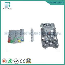 Шелк печать кремния удаленной клавиатуры для телевизора силиконовый ключ для домашних хозяйств