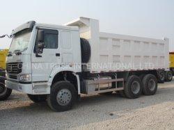 Los camiones pesados HOWO Camión Volquete 6X4 (5607ZZ VDNB38400) para los minerales