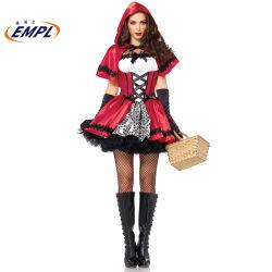 Halloween-Kostüm-reizvolles konstantes Mädchen-Kostüm-Kleid-Latex-Spiel Cosplay Kostüm plus Größe