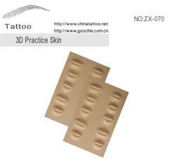 Постоянные принадлежности для макияжа 3D практике кожи