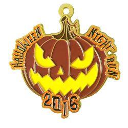 Золото Custom Хэллоуин металлические военных памятных медалей