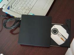 محرك أقراص USB DVD خارجي لإعادة الكتابة