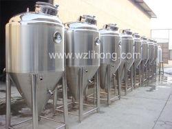 cuve de fermentation de la bière en acier inoxydable