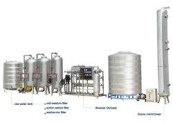 De automatische Installatie van de Behandeling van het Drinkwater van de Fles Minerale Zuivere (SCL)