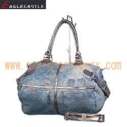 Sacchetto di Demin di modo/signora Jeans Bag/borsa Tote di Demin (CX17591)