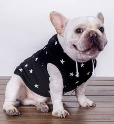 流行の星の印刷ペット衣服 PUP の付属品犬のパーカーのコート