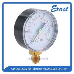 Gaz économique manomètre Manomètre de pression de l'air jauge à sec standard