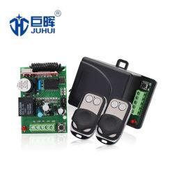 2 trasmettitore e ricevente di CC rf dei canali 12V/24V per il cancello