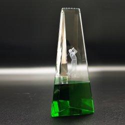 De nieuwe Basis van de Kleur van de Toekenning van de Trofee van het Kristal van het Golf
