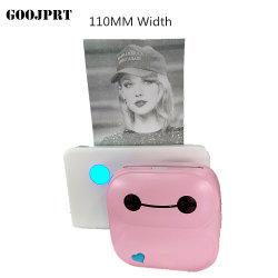 P4 de 4 pulgadas max 112mm portátil Bluetooth del teléfono móvil para ios impresora fotográfica Impresora móvil Android
