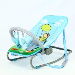 Детское кресло поворота Bouncer, головки блока цилиндров 2 в 1 Baby Bassinet и упругость поворотное кресло