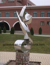 O design exclusivo da escultura abstracta Arte Decorativa