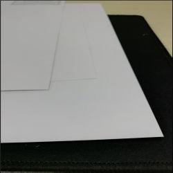 Tarjeta de arte /C2s / Dos cara recubierta por la impresión de etiquetas