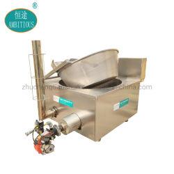 ガスの熱くするオオバコのポテトチップドーナツ機械を揚げる深いバッチフライヤー
